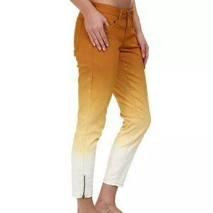Prana Jett Capri Jeans Ombré Size 10